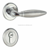 High security type cylinder bathroom door lock