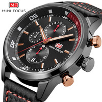 Mini Focus Swimming Mechanical Sport Automatic Chronograph reloj dama Watch with 6 hands dial