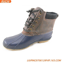 US fashion waterproof rubber duck boots
