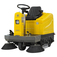GEMEI S2 vacuum street sweeper/road cleaning truck/electric wet floor cleaner/road sweeper brush/Park Sweeper/Electric