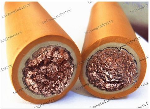 welding cable 70mm2 50mm2 CU or CCA TPE or rubber