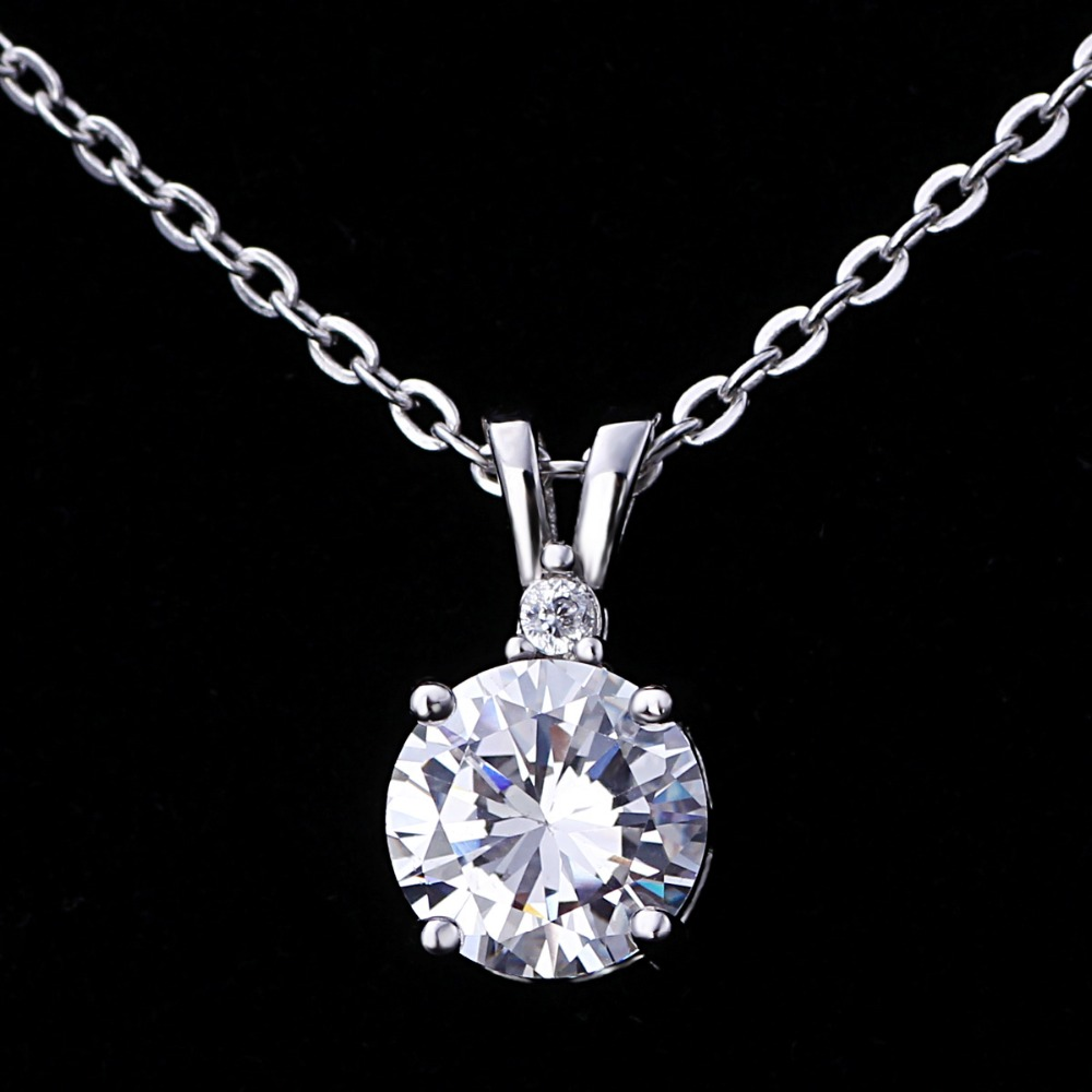 Angel crystal bridal 925 silver pendant for girl