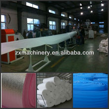 Plastic expanded EPE foam sheet extruder machine