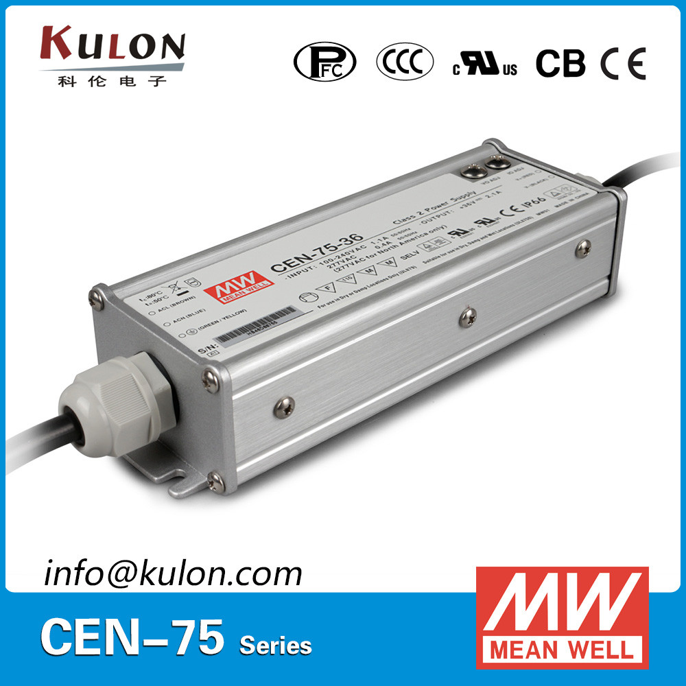 MEAN WELL CEN-75-36 75w 36v IP66 waterproof outdoor led driver
