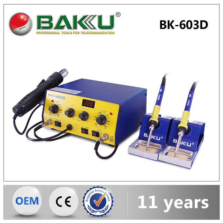 2016 Baku New Arrived Highest Level Low Price Newest mini Fashion Station Welds Welding Iron Tool Kits