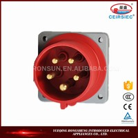 Chinese manufacture Industrial 5 pins generator plug and socket