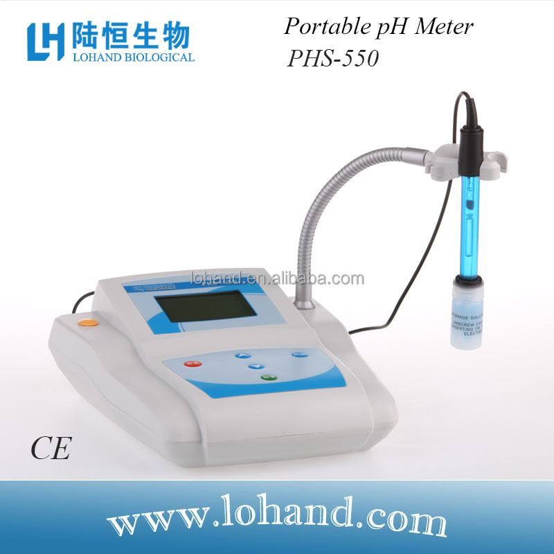 laboratory China bench top digital pH/Temp/ORP test pH meter