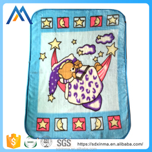 Wholesale custom pink baby blankets for military