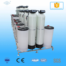 Double resin tank double-valve 4000L/Hour ions exchange water softener system