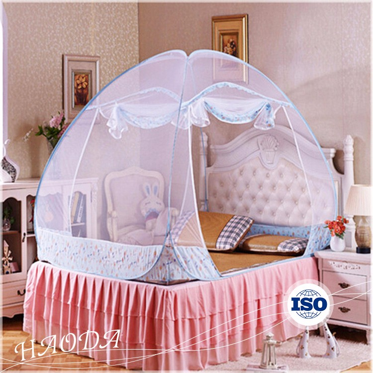 Zipper Patio Small Portable Adult Bed Canopy