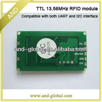 Low cost UART IC2 interface RFID Module(13.56 MHz)