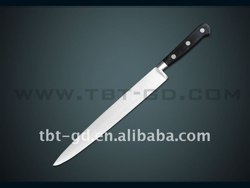 "Stainless steel kitchen 10"" carving knife"