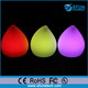 remote control rgb color changing battery rechargeable cordless water drop lights