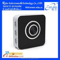 Unique! HD 720P 30fps two way audio wearable smart mini wireless p2p wifi ip camera with free uid