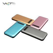 VPB-J013 colorful super large capacity 12000mah metal power bank for samsung, huawei, android phones