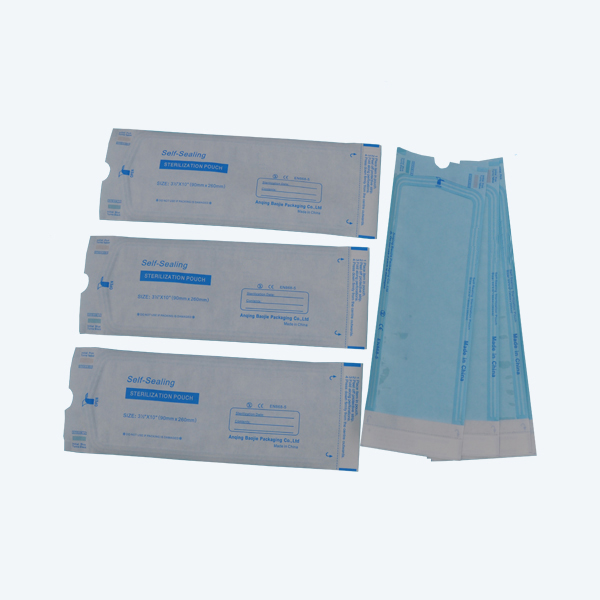 Auto Seal Disinfection Sterilization Pouch for device tools