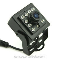 40*40mm 0.0001Lux 940nm IR Leds Invisible Hidden 1.3mp CCTV Miniature AHD Camera With OSD Menu For Nest Bird Box