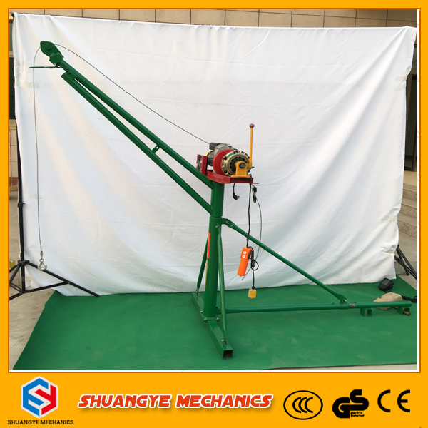 360 degree rotate portable crane can customized reqiure