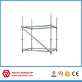 Hot Dip Galvanized Cuplock Standard Used for Construction