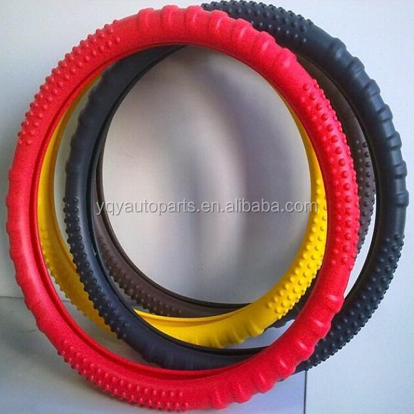 Best quality Custom Durable wheel cover Car Silicone steering wheel cover