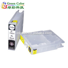 refillable ink cartridge for epson WF8593 WF8590 WF6590 WF6530 with ARC chip