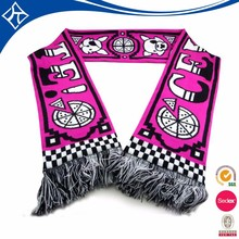hot sale custom woman winter long cotton scarf large
