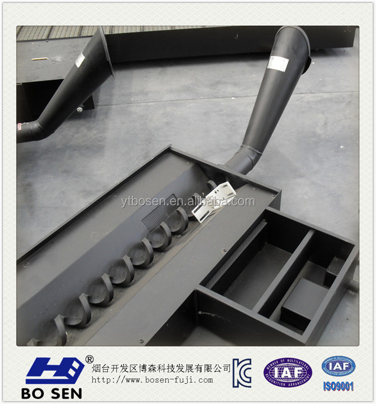 Screw chip conveyor
