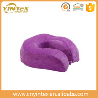 Cheap Wholesale U Shape Neck Travel Pillow,bean bag neck pillow