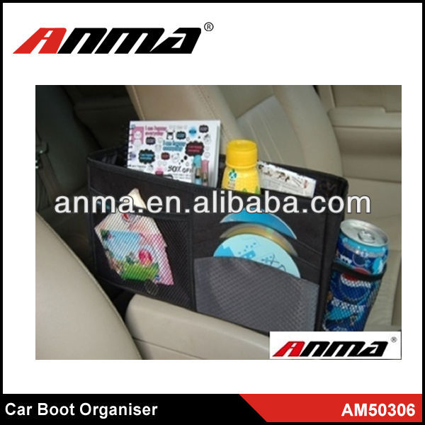 Hot sell new car seat side organiser car auto boot trunk organiser