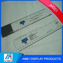 2017 magic hot sale promotional accurate acrylic laser ruler for work