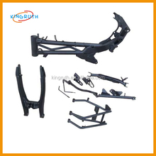China high quality alloy dirt bike Klx110 frame for sale