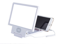 Mobile Phone Magnifying Glass Folding Enlarged 3D Magnifier Screen Portable HD Amplifier/3d screen magnifier with speaker