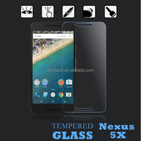 MYX 2016 New coming !! 0.2mm Japan ASAHI Material premiun tempered glass screen protector for LG Nexus 5x