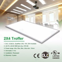 UP-PL LED commercial super-thin led troffer 0-10v dimmable led ceiling light, Up-shine BX