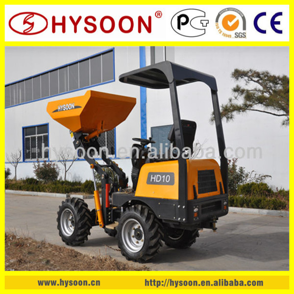 HYSOON brand new mini dumper 4x4