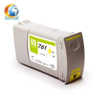 Supercolor Strong Recommended 2016 Reborn ink cartridge for HP761 ink cartridge for HP T7100 /T7200(Pigment ) ink cartridge