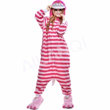 ALQ-A008 High quality costume sleepwear unisex fitted onesie for women