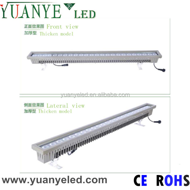 24*4w 4in1 RGBW wall washer underwater led light IP68