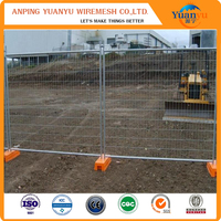 Temporary fence panel / galvanized sheet metal fence panel / cheap fence panels