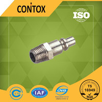 "C227 Euro type male 1/4"" bsp thread fittings"
