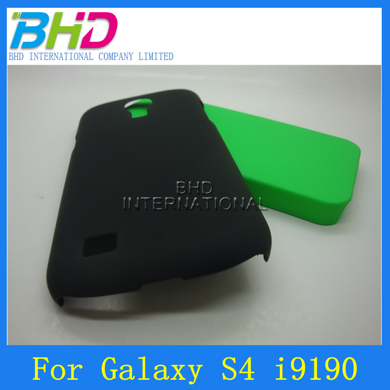 Defferent pure color touch smooth cover case for samsung galaxy s4 mini i9190