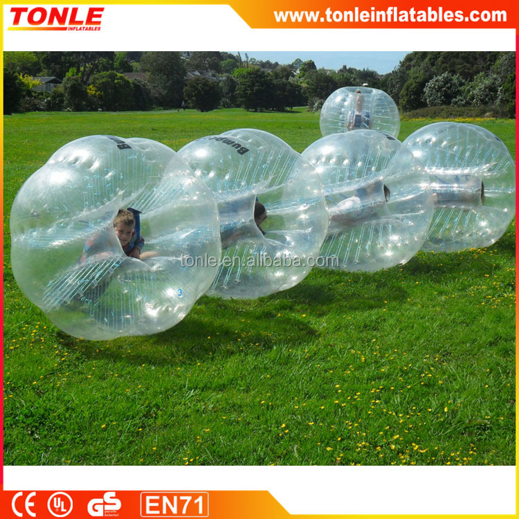 New design inflatable buddy bumper ball for adult, Fashion inflatable belly bumper ball
