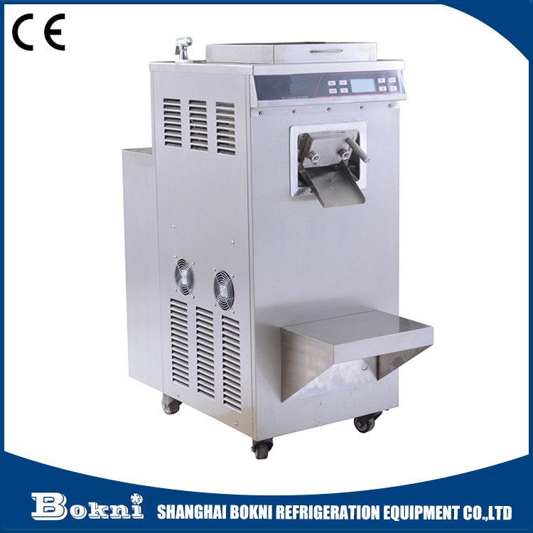 High quality middle capacity ice cream machine batch freezer