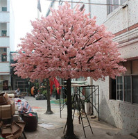 Hot selling Artificial cherry blossom tree,cheap artificial flower,trees for indoor wedding decoration