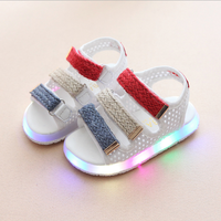 2018 Children's summer glowing sneakers luminous baby shoes