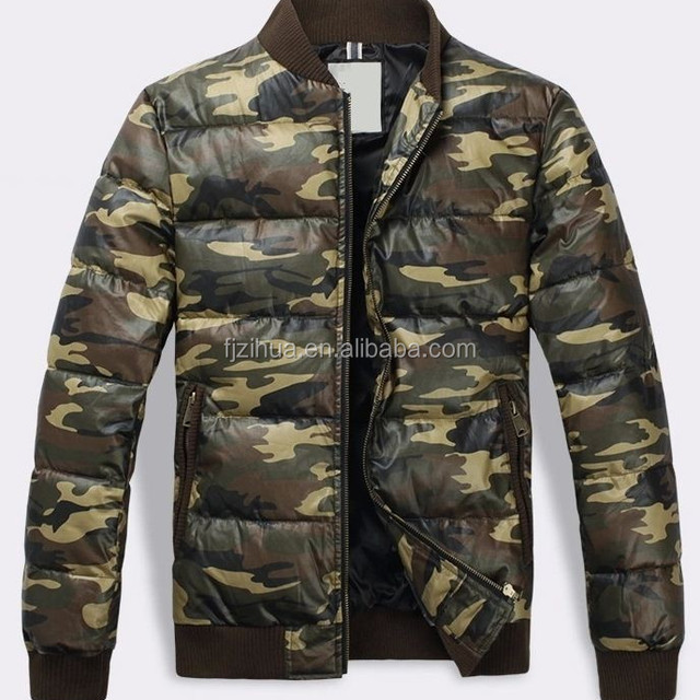 Camouflage Men Woodland jacket for Winter