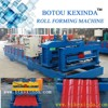 galvanized sheet metal glazed roll forming machinery roof zinc making machine