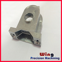 customized aluminum alloy die casting part with sand blasting