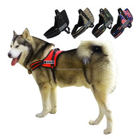 Nylon Dogs Pet Pulling Training Harness Heavy Duty Large Dog Harnesses