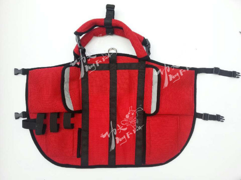 Soft Fashion Multi-functional Red Pet Dog Carry Bag
